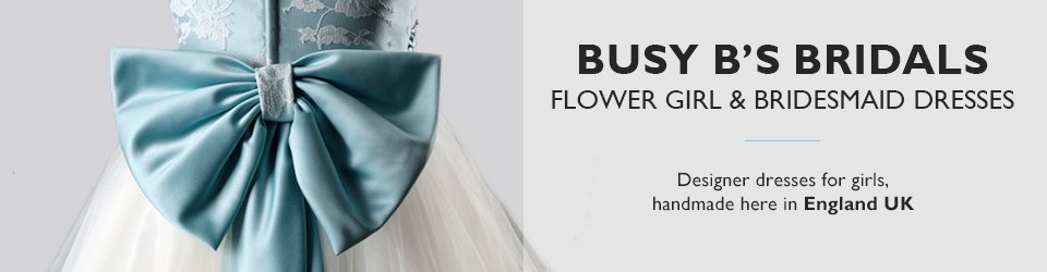 Busy B's Bridals Flower Girl & Bridesmaid Dresses