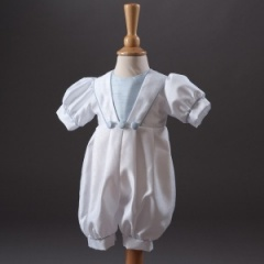 Baby Boys Millie Grace 'Archie' Sailor Christening Romper