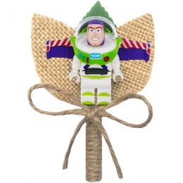 Boys Buzz Lightyear Hessian & Twine Rustic Buttonhole