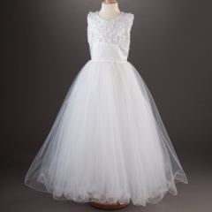Millie Grace 'Carmen' White Princess Communion Dress