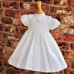 Exclusive Millie Grace 'Elizabeth' Ivory Christening Dress with Cross