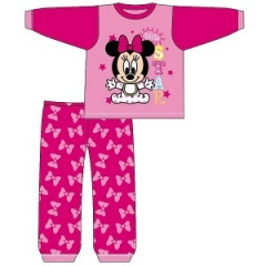 Baby Girls Official Disney Minnie Mouse Pyjamas