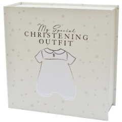My Special Christening Outfit Baby Keepsake Box