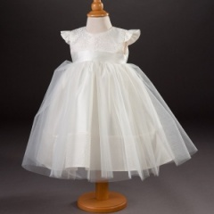 Baby Girls Millie Grace 'Tulip' Brocade & Organza Dress