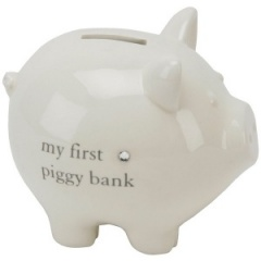 My First Piggy Bank Ceramic Money Box