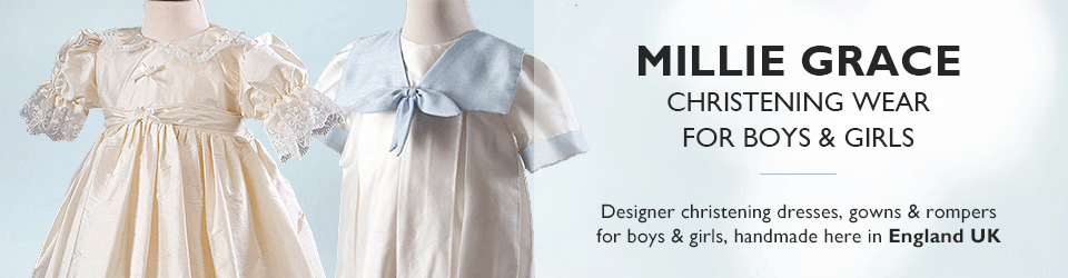 Millie Grace Christening Wear for Baby Boys & Girls