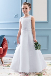 Emmerling White Communion Dress - Style 77714