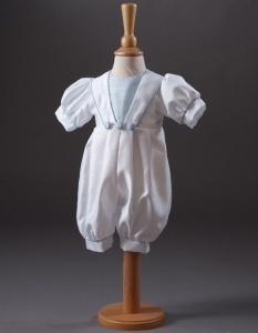 Baby Boys Sailor Christening Romper - Archie by Millie Grace