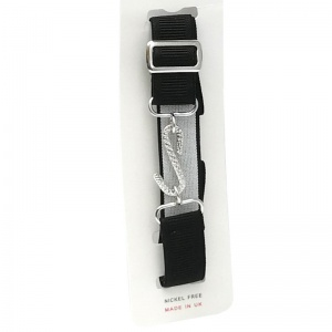 Boys Black Elastic Formal Belt