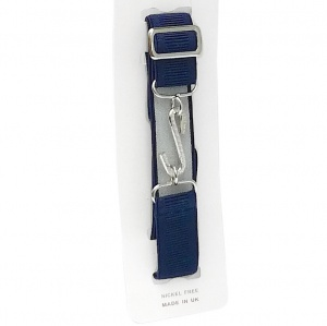Boys Navy Adjustable & Elasticated Formal Belt