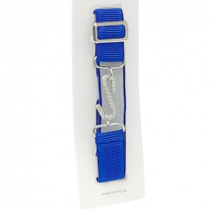 Boys Royal Blue Adjustable & Elasticated Formal Belt
