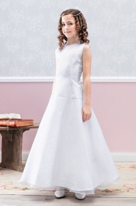 Emmerling White Communion Dress - Style Dolores