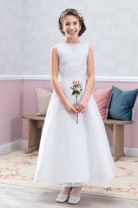 Emmerling Ivory or White Communion Dress - Style Dora