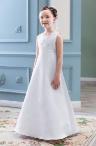 Emmerling White Communion Dress - Style PW 2022
