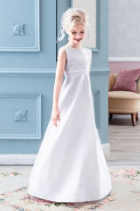 Emmerling White Communion Dress - Style PW 2023