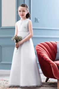 Emmerling White Communion Dress - Style PW 2024