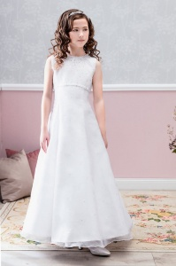 Emmerling Ivory or White Communion Dress - Style Anastasia
