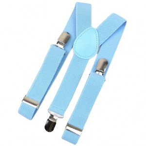 Baby / Toddler Sky Blue Y-Back Adjustable Braces
