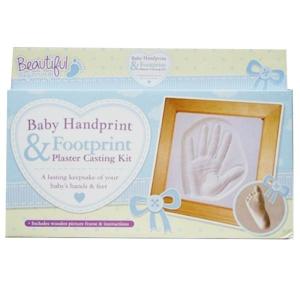 Baby Handprint Amp Footprint Mould Kit Amp Frame Keepsake