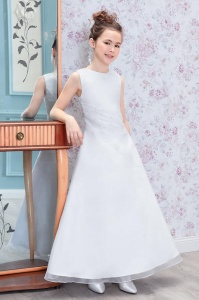 Emmerling White Communion Dress - Style Chelsea
