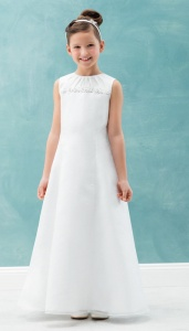 Emmerling White Communion Dress - Style Courtney