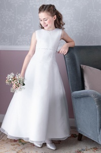Emmerling White Communion Dress - Style Dory