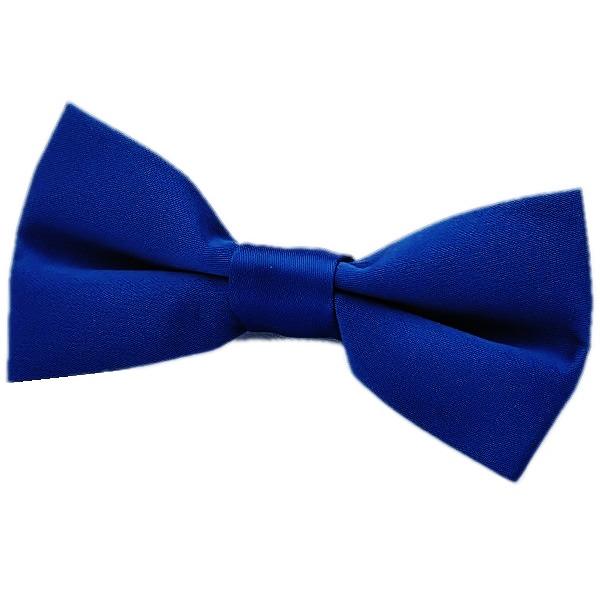Kids Royal Blue Bow Tie