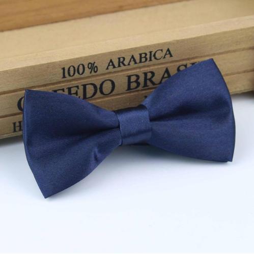 0d4aaa7636ba Dark Navy Boys Dickie Bow | Boys Navy Bow Tie ...