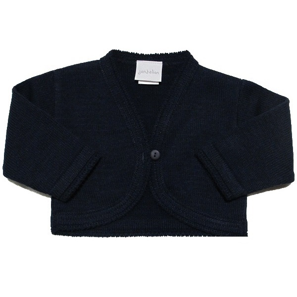 853b6b72e Baby Girls Navy Bolero