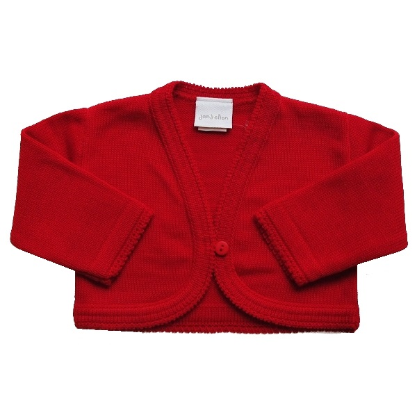 15d4afd9e Baby Girls Red Bolero