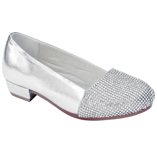 d4a7dcf13797 Girls Silver Sparkly Shoes