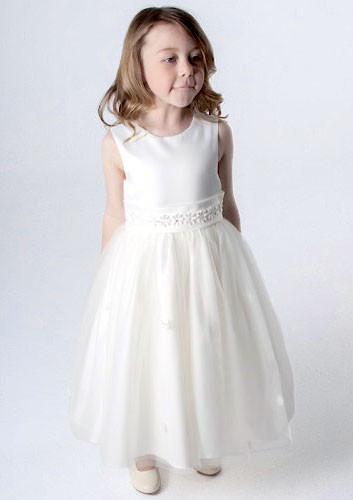 Baby Girls White Christening Wedding Dress Bolero Jacket Flower Girl Dresses