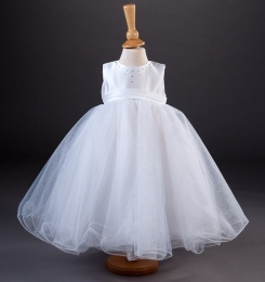 Girls Crystal & Tulle Dress - Abbie by Millie Grace