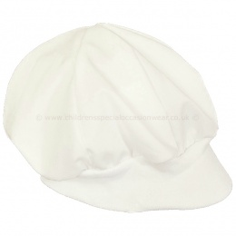 Baby Boys Ivory Poly Cotton Christening Cap