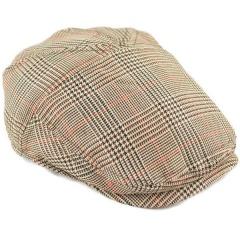 eaec744a40c0a Boys Beige Tweed Herringbone Flat Cap