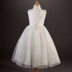 Busy B's Bridals 'Berni' Embroidered Organza Dress