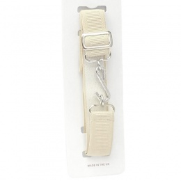 Boys Beige Elastic Formal Belt