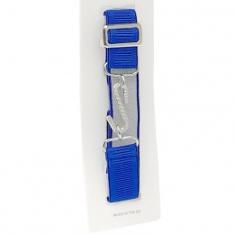 Boys Royal Blue Elastic Formal Belt
