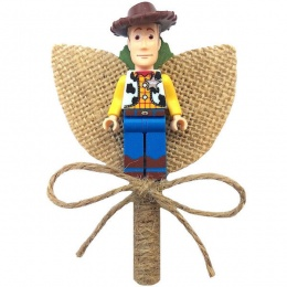 Boys Woody Hessian & Twine Rustic Buttonhole