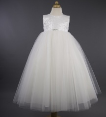Busy B's Bridals 'Kate' Sequin Bodice Tulle Dress
