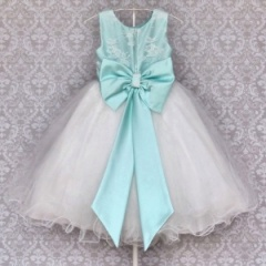 Busy B's Bridals Mint Green April Lace & Tulle Dress