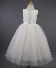 Busy B's Bridals 'Zeta' Sweetheart Glitter Tulle Dress