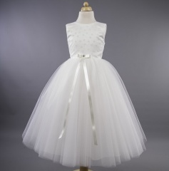 Busy B's Bridals 'Zola' Glitter Flower Tulle Dress