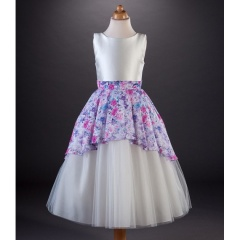 Busy B's Bridals 'Jay' Multi Floral Apron Style Dress
