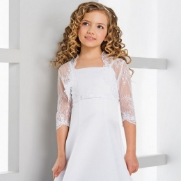 Girls Elegant Lace Bolero by Lacey Bell Style CJ173