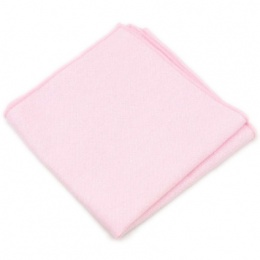 Boys Pastel Pink Cotton Pocket Square Handkerchief