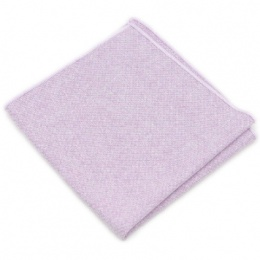 Boys Pastel Lilac Cotton Pocket Square Handkerchief