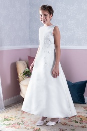 Emmerling White Communion Dress - Style Dana