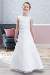 Emmerling Ivory or White Communion Dress - Style Daniela