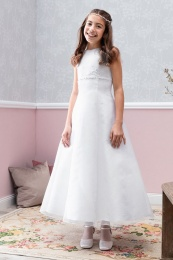 Emmerling White Communion Dress - Style Dea